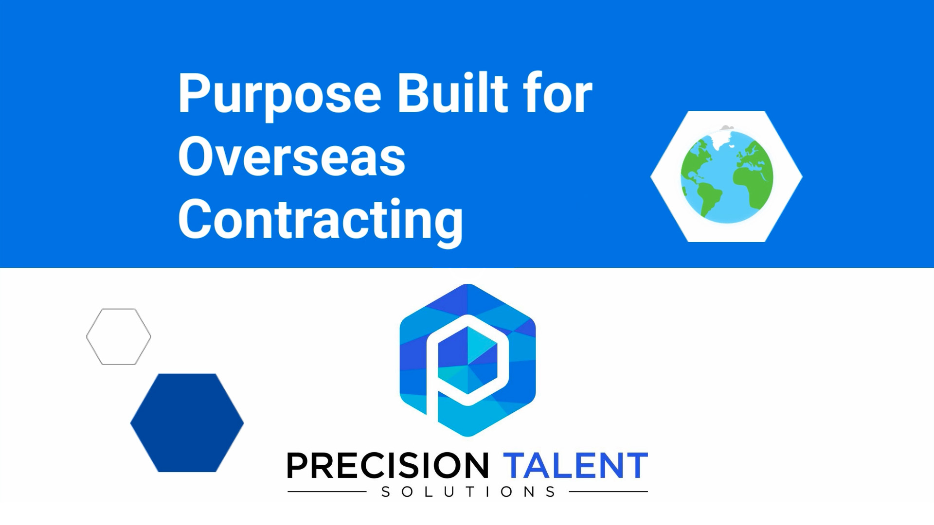 Precision Talent Solutions | Talent Acquisition for Global Contracts